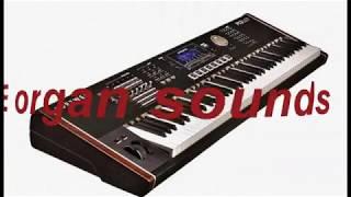 KURZWEIL PC3 LE - organ sounds (Demo)