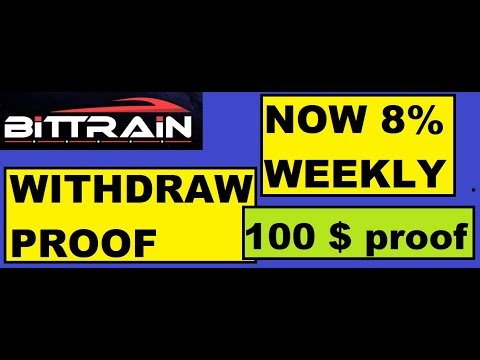 bittrain-withdraw-proof-|-earn-100-$-monthly-|-8%-weekly-|-part-3