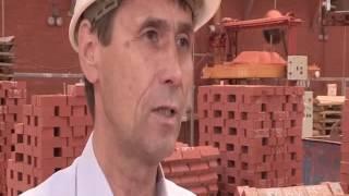 видео Предприятия по производству кирпича