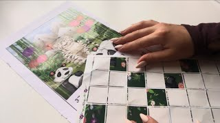 ASMR sticker puzzle (no midroll ads) DO NOT WATCH if you don't like ASMR