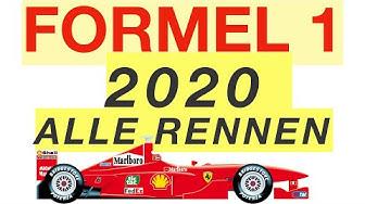 Formel 1 – Kalender 2020 🏎🏁🏆 | BesserWissen