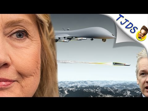 Hillary Clinton Wanted To Murder Julian Assange With A Drone