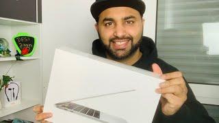 Apple MacBook Pro 13-inch Silver unpacking and review in Urdu #DESIJAAN