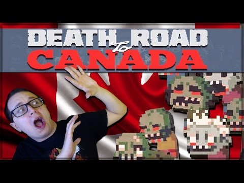 Death Road to Canada - This is a Thing! (Rage and Hollow's Zombie Road Trip)