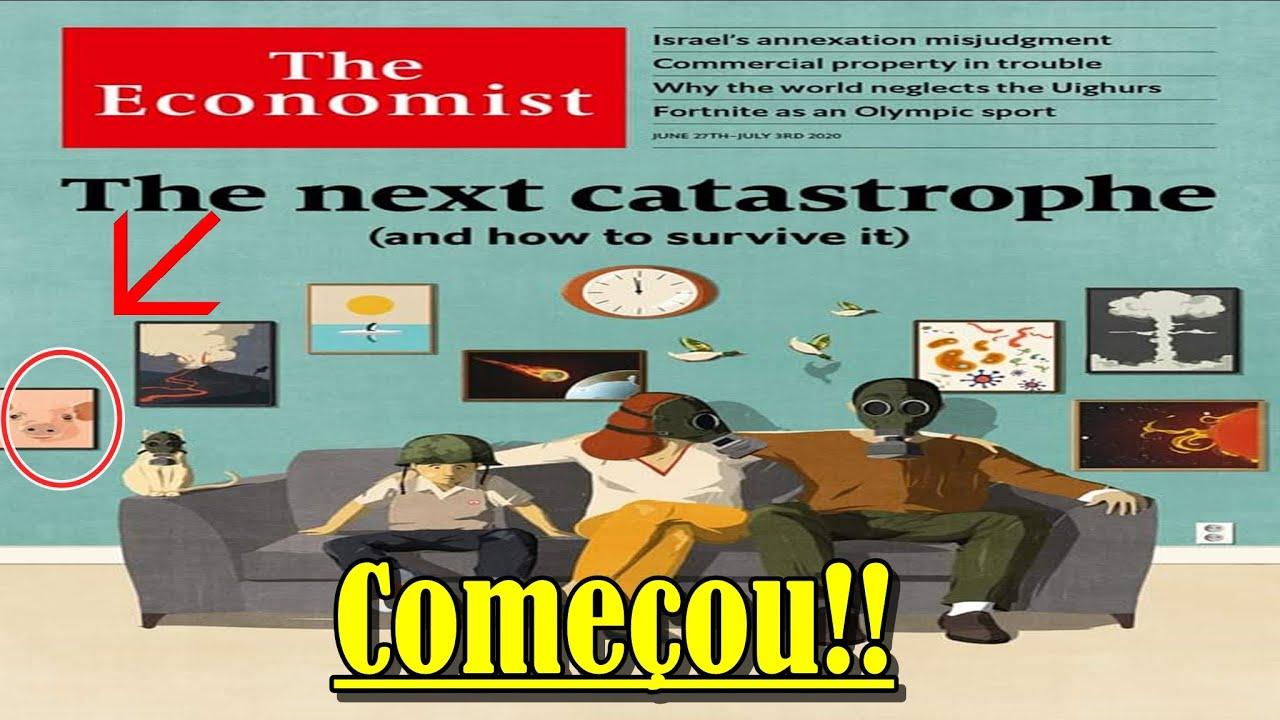 Urgente: Revista the economist e seus avisos, começaram.