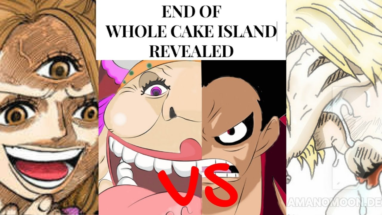 One Piece Whole Cake Island Arc Theory
