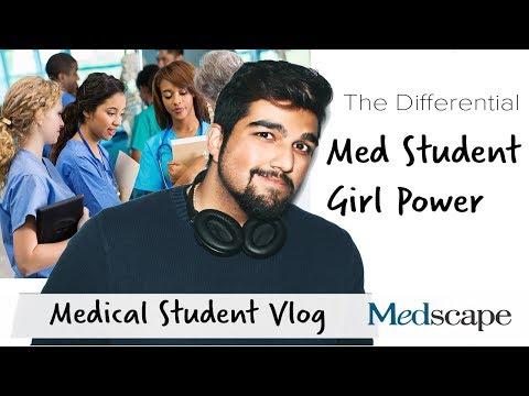 The Differential Med Student Vlog   Med School Girl Power