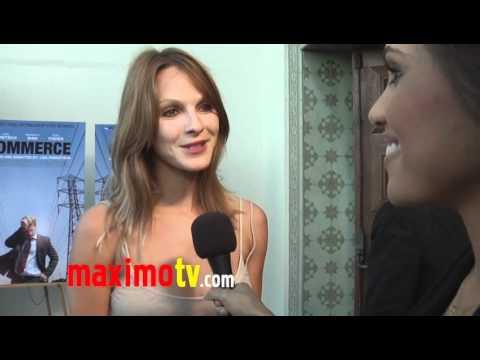 "Beau Garrett Interview at ""Commerce"" Premiere Screening at AFI"
