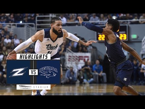 Akron vs. No. 6 Nevada Basketball Highlights (2018-19) | Stadium