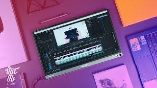 Đánh giá màn hình Asus Zenscreen Go MP16AP
