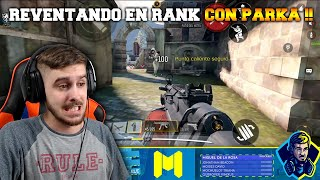 DESTROZANDO EN RANK CON PARKA !! COD MOBILE