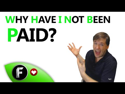 ★ Why was I not paid?