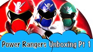 Pt 1 Unboxing Mega Bloks Power Rangers Super Mega Force Sky Ship Showdown Sky Ship Zord Red Ranger
