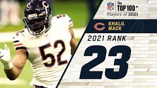 #23 Khalil Mack ( LB, Bears) | Top 100 Players in 2021