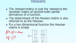 Lecture: Multi Dimensional Gradient Methods in Optimization -- Theory Part 1 of 2