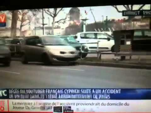 cyprien d c d dans un accident de voiture youtube. Black Bedroom Furniture Sets. Home Design Ideas