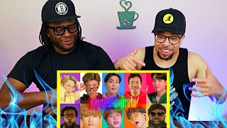 TOO FIRE BRUH!!   BTS, Jimmy Fallon and The Roots Sing Dynamite (REACTION)