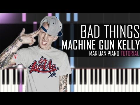 How To Play: Machine Gun Kelly ft. Camila Cabello - Bad Things | Piano Tutorial