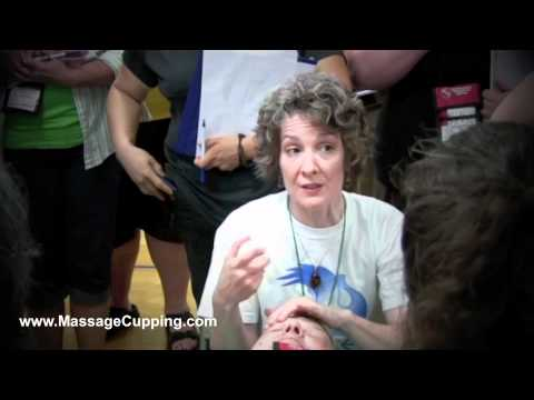 Massage Cupping Workshop with Anita Shannon at the World Massage Festival 2010