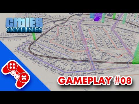 cities: skylines gameplay ITA #08: metropolitana, tram, barbapapà e Maggiolio