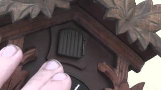 A Look At My Small Cuckoo Clock After Repairs Were Made To It.
