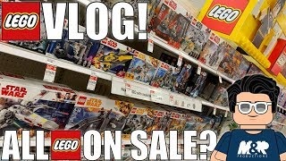 ALL LEGO ON SALE! The LEGO Movie 2 VideoGame! My LEGO BACKLOG! | MandRproductions LEGO Vlog!