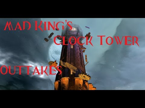 Guild Wars 2 - Mad King's Clock Tower (Jumping Puzzle) - Outtakes
