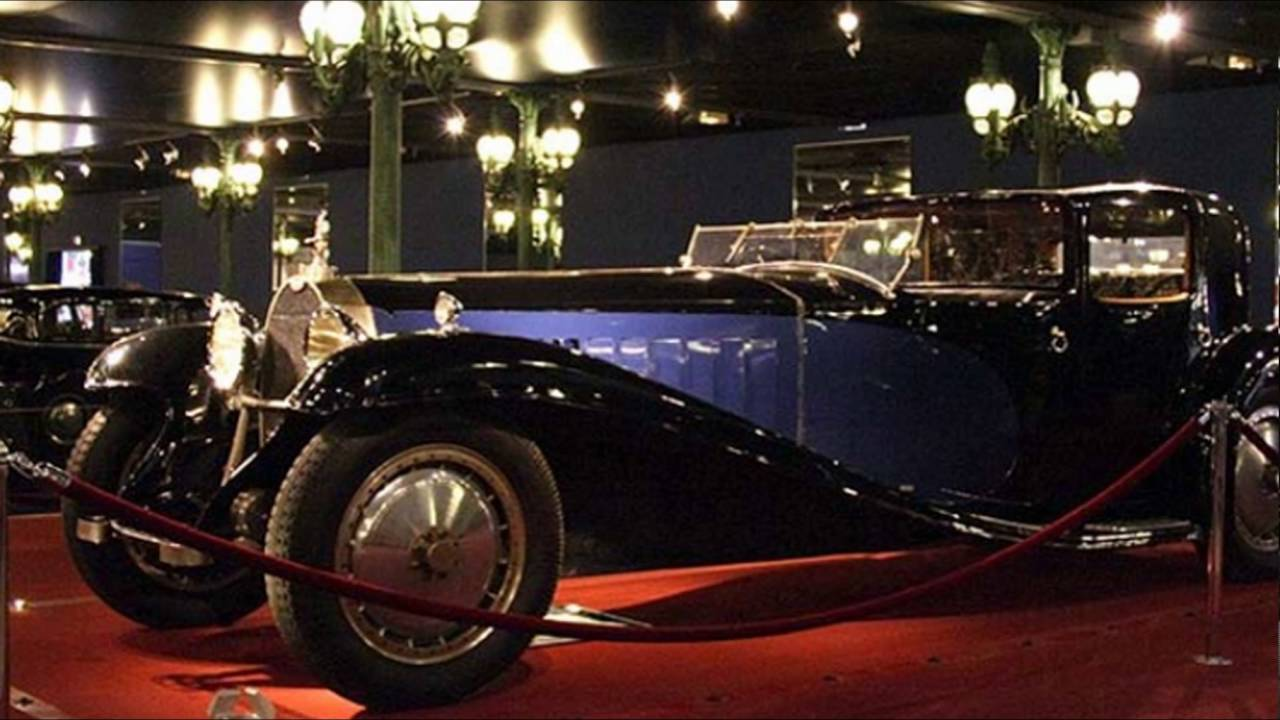 car bugatti royale kellner coupe - youtube