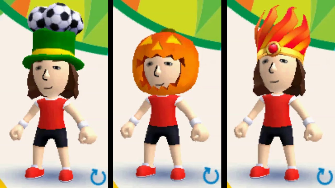 how to get mii plaza hats