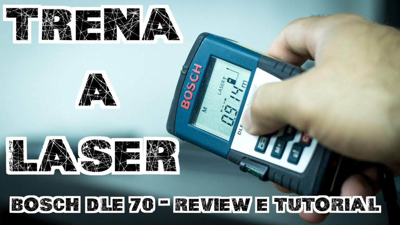 Bosch Entfernungsmesser Dle 70 : Trena a laser bosch dle review e tutorial youtube