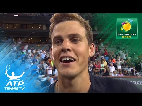 Pospisil on beating World No.1 Andy Murray | Indian Wells 2017