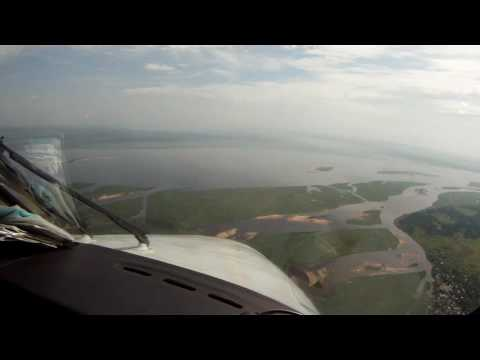 Landing with the King Air 350 Kinshasa Ndolo