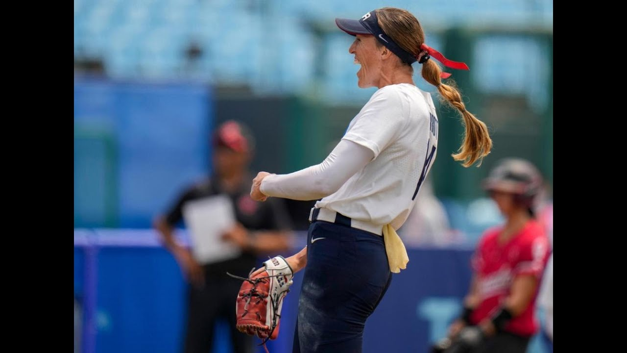 Monica Abbott throws one-hitter to lead US past Canada