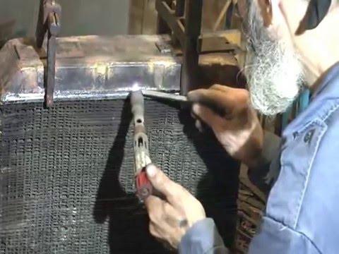 Пайка нижнего бака радиатора Виллис