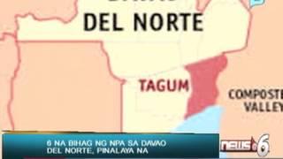 News@6: 6 na bihag ng NPA sa Davao Del Norte, pinalaya na