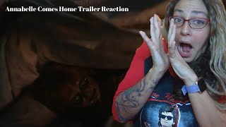 ANNABELLE COMES HOME Official Trailer Reaction