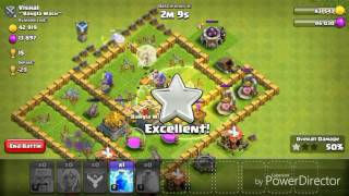 Clash Of Clans Osa 2 [Only Barbarians+CC troops+Healers]