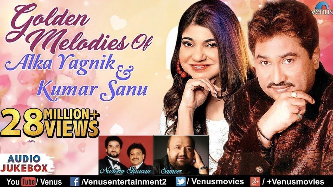 Kumar Sanu & Alka Yagnik Golden Melodies  90's Evergreen Songs  Jukebox  Romantic Hindi Songs