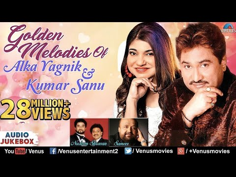 Kumar Sanu & Alka Yagnik - Golden Melodies | 90's Evergreen Songs | JUKEBOX | Romantic Hindi Songs thumbnail