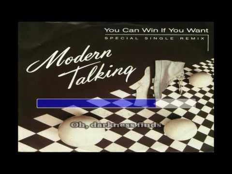 Modern Talking   You Can Win If You Want KARAOKE   New Wave
