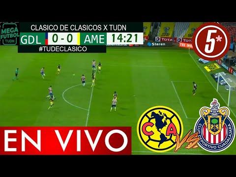 Amrica vs Chivas: dnde VER el Clsico Nacional HOY