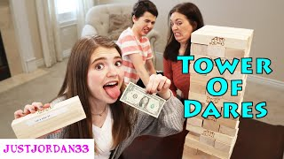 Tower Of Dares Giant Jenga Game I JustJordan33