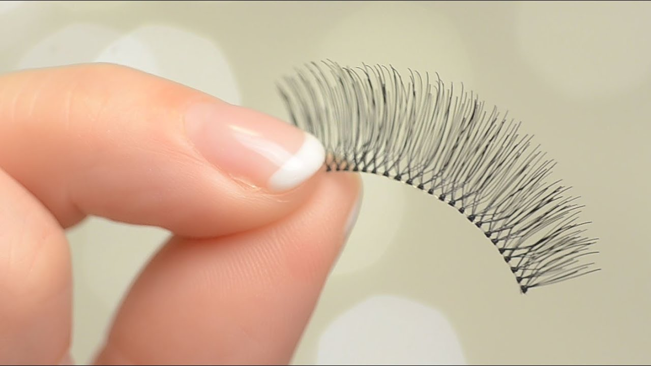 536beaafa26 Ardell 105 Lashes Glamour Black False Lashes Review & Demo | CORRIE SIDE