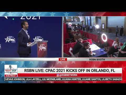 ? Donald Trump, Jr. Full Speech at CPAC 2021