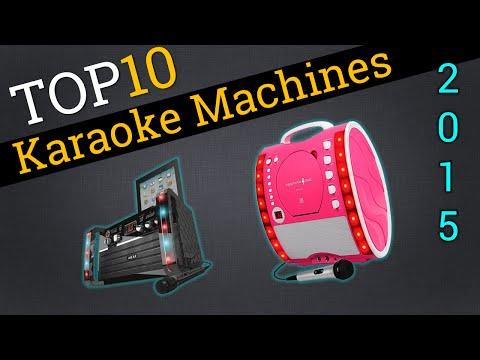 Top 10 Karaoke Machines 2015 | Compare The Best Karaoke Machines