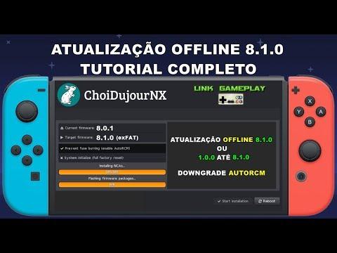 ATUALIZAÇÃO OFFLINE 8 1 0 - TUTORIAL COMPLETO - NINTENDO SWITCH