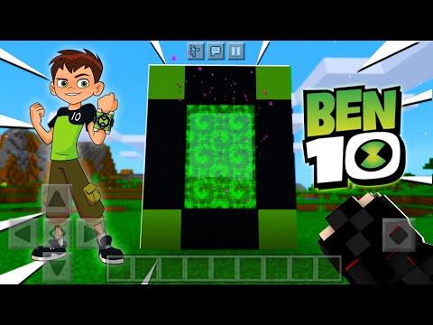 Minecraft Movie | !! صنعت بوابة سحرية وسافرت لعالم بين تين