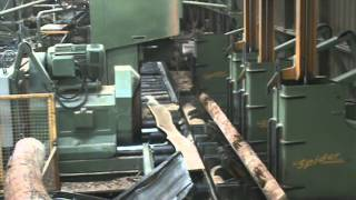 Log Bandsaw - Double Cut