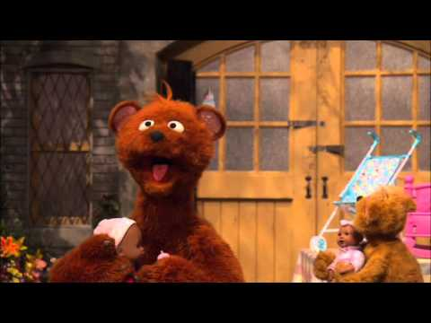 Sesame Street Baby Bear's baby Doll
