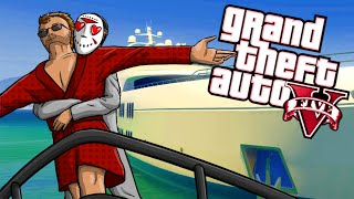 GTA 5 Funny Moments - Delirious' House Tour & Fun on the Yacht!
